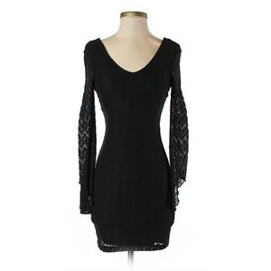 Buffalo by David Bitton Black Lace Dress